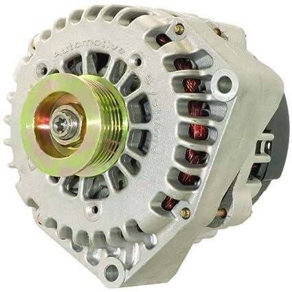 amazon com: new 250 amp high output alternator fits chevy pickup gmc 4 3  5 0 5 3 5 7 6 0 6 5 6 6  with 4 pin plug: automotive