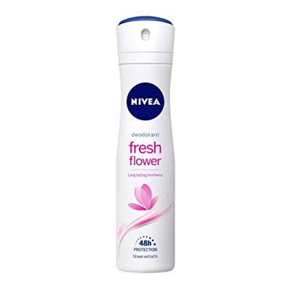 Nivea Deodorant Fresh Flower Long lasting Freshness Deodorant, 150ml/92g