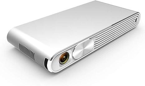 Asg Inteligente Proyector 3D HD Proyector portátil Micrófono de ...
