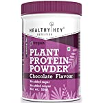 HealthyHey Nutrition Plant Based Vegan Protein Powder, Chocolate Flavour, Low Net Carbs, Non Dairy, Gluten Free, Lactose…