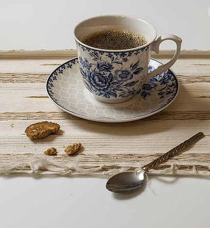 BTäT - Tea Set, China Tea Set, Tea Service, Tea Cups (8oz), Creamer and Sugar Set, Tea Cups and Saucer Set, Tea Pot, Tea Set for Adults, Tea Cups Set of 4, Blue Dream Tea Set, Porcelain Tea Set, Cups by Brew To A Tea (Image #2)