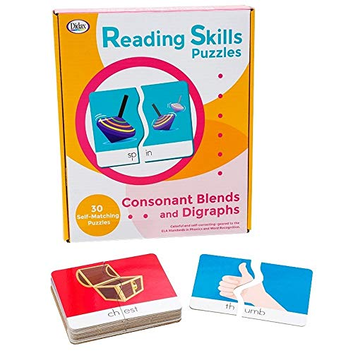 - Didax Reading Skills Puzzles: Consonant Blends and Digraphs