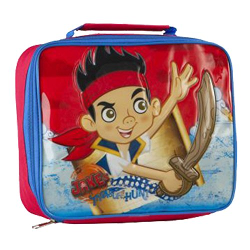 Jake & The Never Land Pirates 27892 Disney Junior Jake and The Neverland Pirates Insulated Cooler Lunch Bag ()