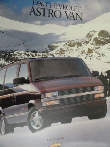 1996 Chevrolet Chevy Astro Van Sales Brochure