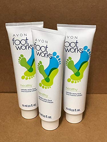 Avon Foot - Avon Foot Works Healthy Arthritis Achy Foot and Muscle Cream Lot 3 Tubs