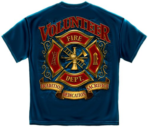 Love Fighters T-shirt (Volunteer Firefighting Shirt Fire Fighter Tshirt Tradition Sacrifice Dedication)