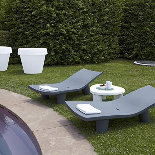 Slide Low Lita Table Tavolino Grigio Elefante