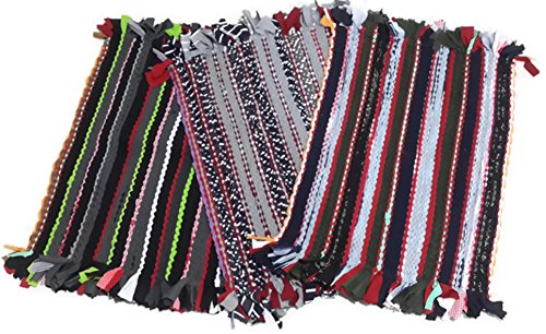 Oh Christmas Weave - Thai Style Doormat/Rug - Colorful pattern (15.5