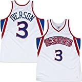 Men's Adult #3 Allen Iverson White 1996 Throwback Jersey Basketball Jersey Basketball Shirt