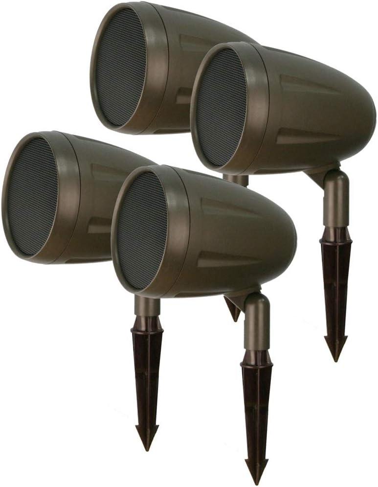 6 Speakers Outdoor Landscape Speakers by AVX Audio