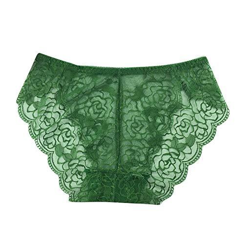 Laccio Donna Slip biancheria Intima Donne Bragas Pizzo Verde Sexy Mutandine Le Parola Pantaloni Babydoll Signore wURZqpxIq