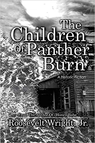 Front cover for the book The Children of Panther Burn by Roosevelt Wright Jr.