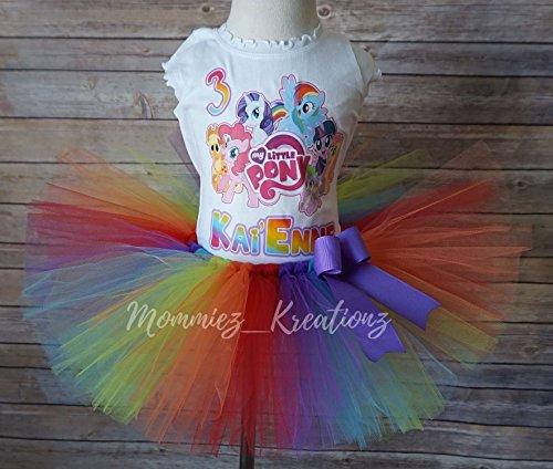 bd1e583f85281 My Little Pony Tutu Set,Rainbow Dash Tutu Set, MLP Birthday, Pinkie Pie Tutu  - Buy Online in UAE. | mommiez_kreationz Products in the UAE - See Prices,  ...