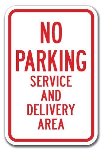 Novedad Regalo señal de prohibido aparcar zona de prestación ...