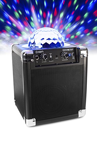812715015046 - ION Audio House Party (iPA18L) | Portable Sound System with Built-In Light Show (Black / 8W) carousel main 3