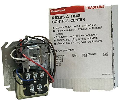 Electric Sequencer Heating (Honeywell R8285A1048 Fan Control Center, 0.298
