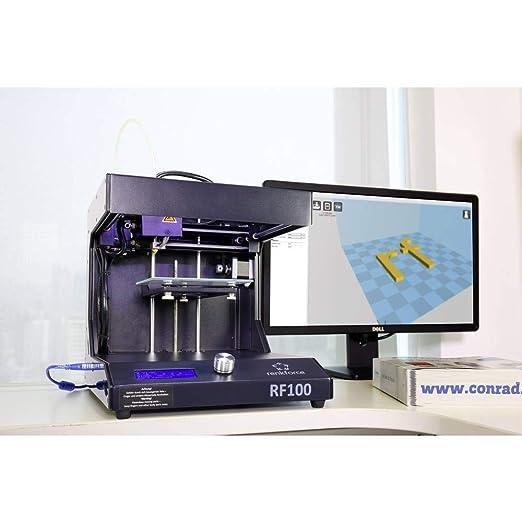 Renkforce RF100 v2 3D Drucker incl. Filament: Amazon.es: Industria ...