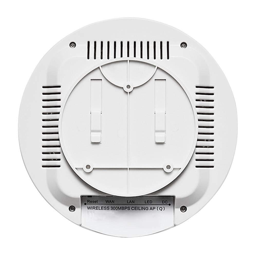 Eruditter Enrutador inalámbrico de Techo Ap, 300M de Alta Potencia Qualcomm 9531 Serie 2.4G a través de Pared Smart Wi-Fi Router: Amazon.es: Electrónica