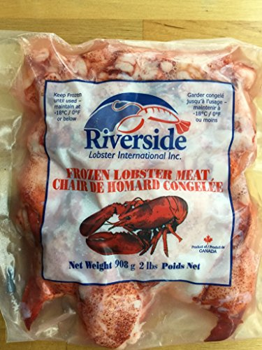 Frozen Lobster Meat - Fresh Frozen Lobster Meat, 2 lbs