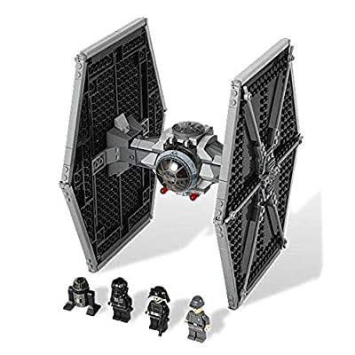 LEGO Star Wars Imperial TIE Fighter Starfighter Spaceship w Minifigures | 9492: Toys & Games
