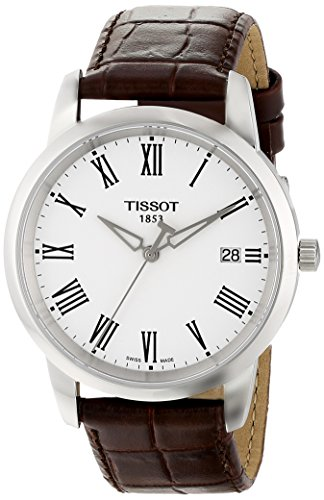 Tissot Men's T0334101601301 Classic Dream Watch With Leather Band