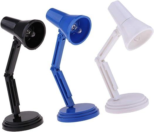 // 1//6 Maison de poupée LED Lampe de bureau pour jouets chauds