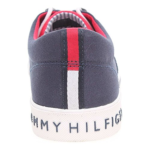 Taille Bleu Textile Hilfiger Chausssure Heritage Homme Tommy zqH8Tfwc