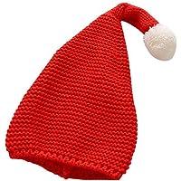 per Sombreros de Navidad para Niños Sombrero Tejido de Punto de Papá Noel Disfraces para Navidad Sombreros Decorativos de Fiesta