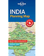 Lonely Planet India Planning Map 1 1st Ed.