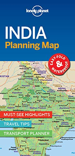 Lonely Planet India Planning Map [Lonely Planet] (Tapa Blanda)