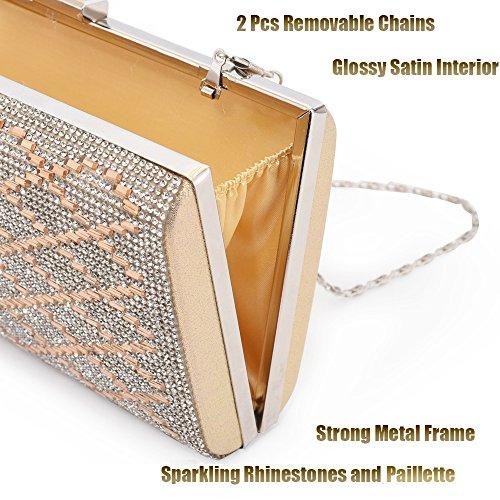 Yellow Women Taglia Longble For Klein7 unica Metal 1 Handbag fwq1HqR