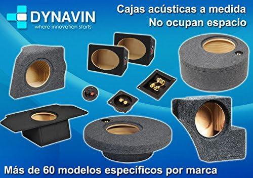 Dynavin Caja ACUSTICA para SUBWOOFER para Hueco EN EL Maletero