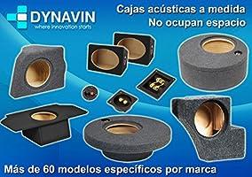 Dynavin Caja acústica Universal para subwoofer de 8