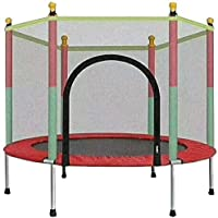 Mini Trampoline for Kids, Trampolines with Enclosure Net Jumping Mat & Spring Cover Padding, Outdoor And Indoor Workout