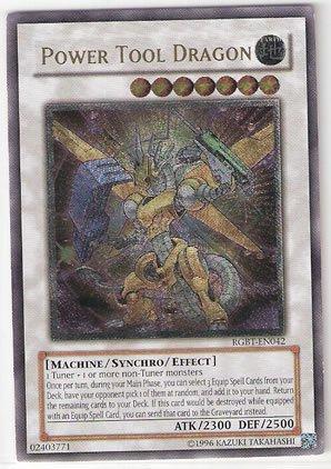 Yu-Gi-Oh! - Power Tool Dragon (RGBT-EN042) - Raging Battle - Unlimited Edition - Ultimate Rare