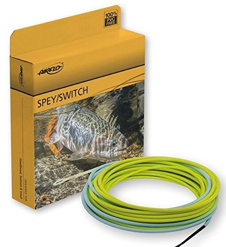 Airflo Fly Line Skagit Compact Switch G2 450 grains Dirty Chartreuse/Sky (Skagit Compact)