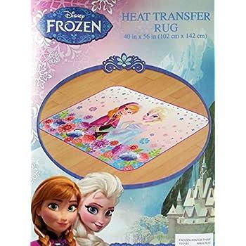 Amazon Com Disney Frozen Winter Thaw Area Floor Rug 40 In