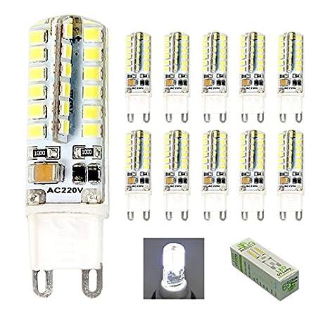 HHD® Paquete de 10 Bombillas LED G9 focos led de 3.5W Luces led, ...