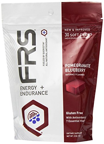 FRS Healthy Energy All Natural Soft Chews, Pomegranate Blueberry, 30 Count