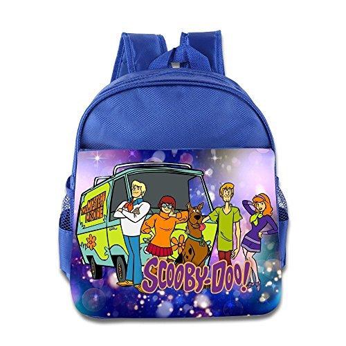 Scooby Doo Logo Retro Kids School Backpack (Scooby Doo Cast Costumes)