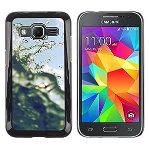 """Pulsar Snap-on Series Teléfono Carcasa Funda Case Caso para Samsung Galaxy Core Prime / SM-G360 , Sun Surf Cielo Océano Florida California"""""""