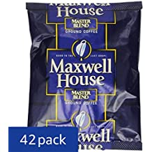 Maxwell House Medium Blend Shy Coffee for OCS, 1.1 oz. pack, Pack of 42