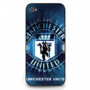 Iphone 5C Case,Manchester United Football Club Protective Phone Case Black Hard Plastic Case Cover For Iphone 5C