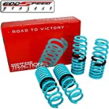 01 honda prelude lowering springs - GODSPEED TRACTION-S LOWERING SPRINGS FOR HONDA PRELUDE 1997-2001 BB5-BB9 SET KIT LS-TS-HA-0018