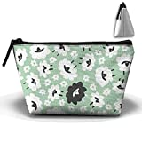 Sheep Ram Goat Trapezoid Storage Pouch Bag Cosmetic Makeup Bag Accessory Case Waterproof For Couple