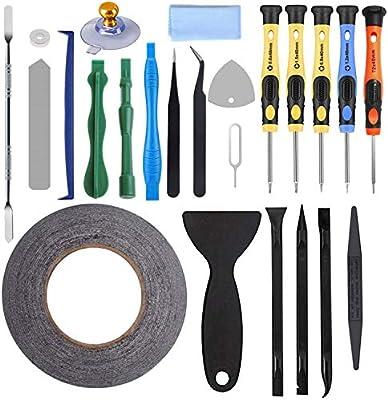 AUTOPkio 24 in 1 Repair Tool Set Kit de herramientas para iPhone 5 ...