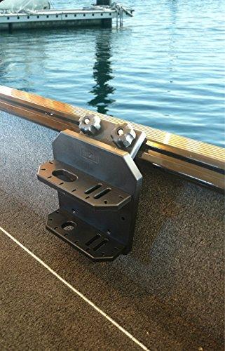 Brocraft Lund Boat Sport Track 45 Degree Tool Holder/Lund Boat Knife and Plier Holder Rig Holder