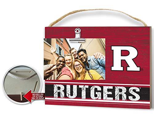 (KH Sports Fan Clip It Colored Logo Photo Frame Rutgers Scarlet Knights)
