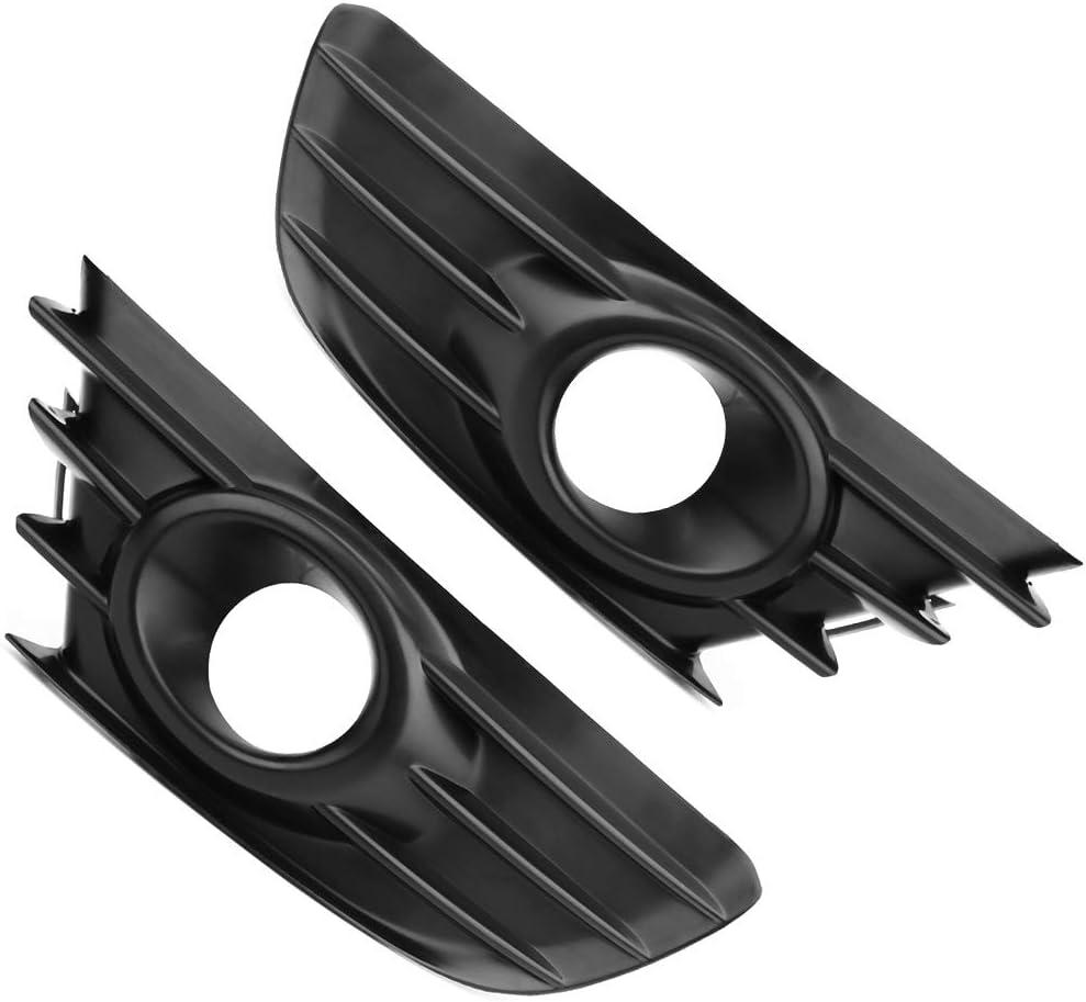 Headlight Grill 1 paire de cache-phares antibrouillard avant /à droite et /à gauche pour Citroen C4
