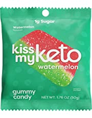 Kiss My Keto Watermelon Slices Gummies 6 x 50g Multicolor